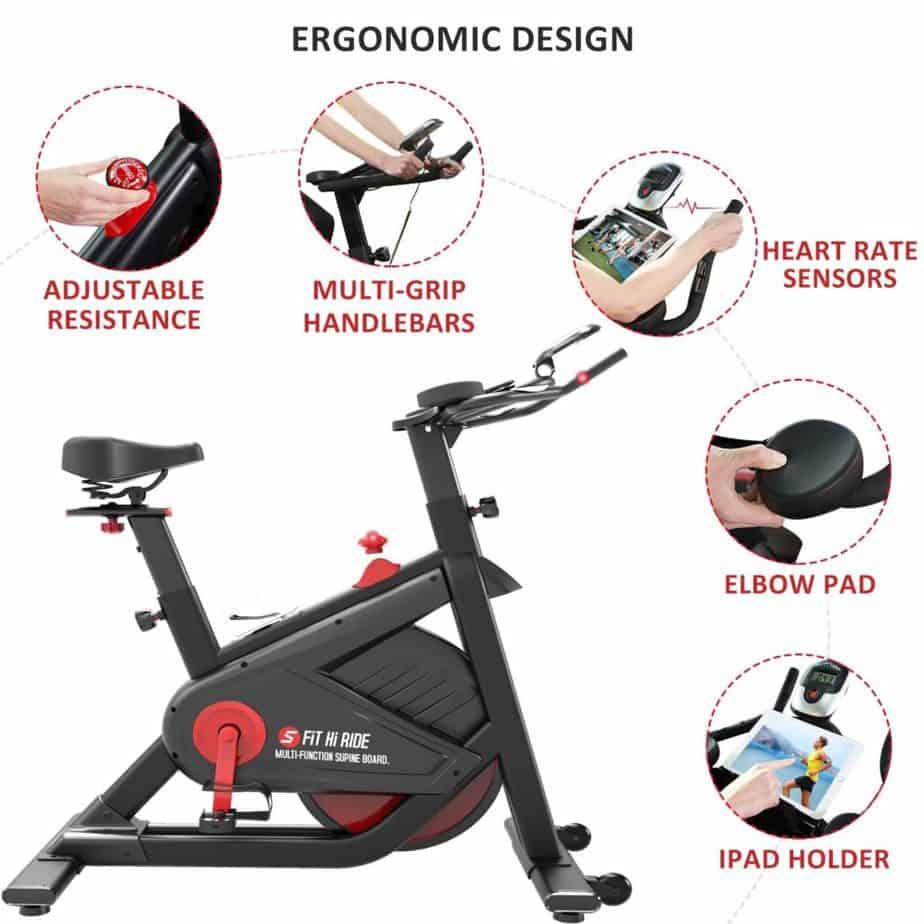 SNODE FIR Magnetic Indoor Cycling Bike 8722